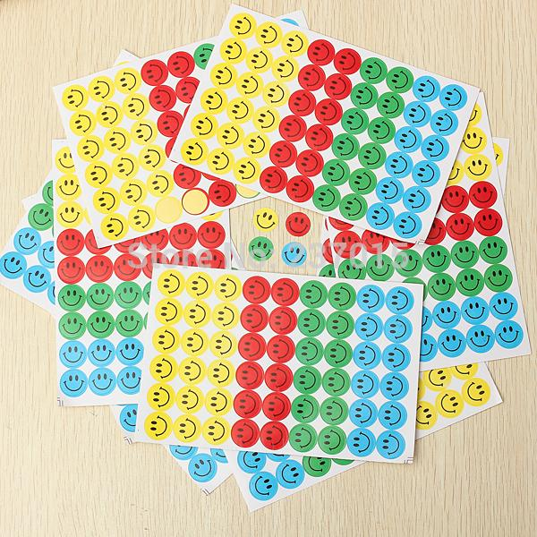 Wholesale-540pcs Children s Reward Stickers School Teacher Merit Praise Class