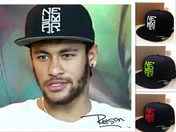 Wholesale-2015 Brand New Baseball Cap NJR HOT Snapback Neymar Sports Hip Hop Swag Cap Men Unisex 5 Panel OEM NJR7859,Free Shipping!