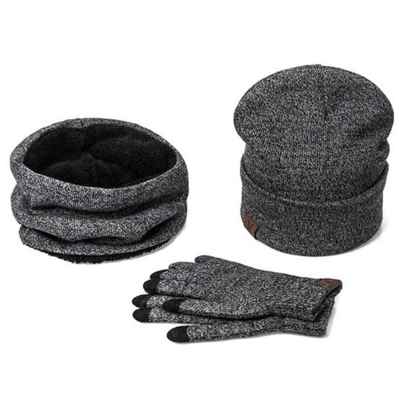Compre Un Conjunto De Hombres Mujeres Sombreros De Invierno Bufandas ...