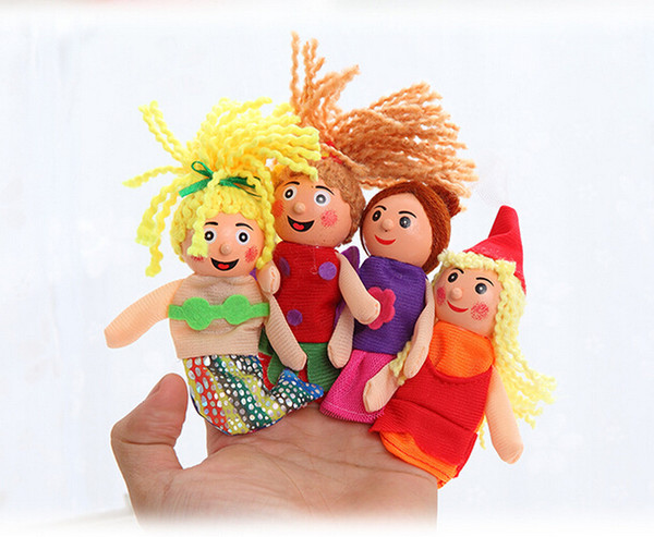top popular Baby Gifts Educational Toys 4 PCS Pretty Little Mermaid Toy Finger Puppets Pretty Little Mermaid Toy Finger Puppets Baby Gifts Educational 2021