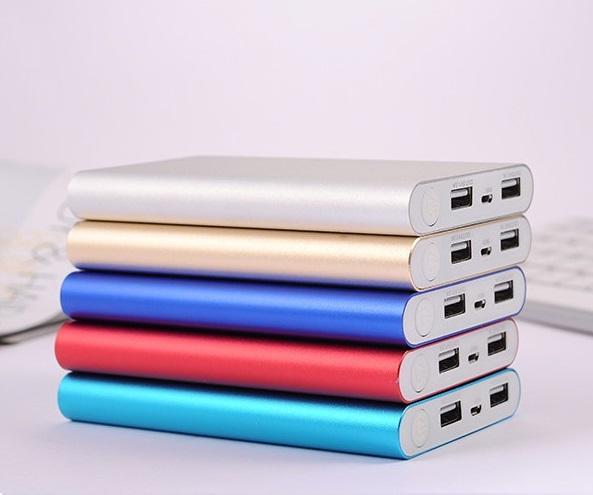 (Factory Wholesale,high quality, Custom LOGO) 2 usb output 20000mah power bank Portable Backup Battery Phone Universal Charger 100pcs/lot
