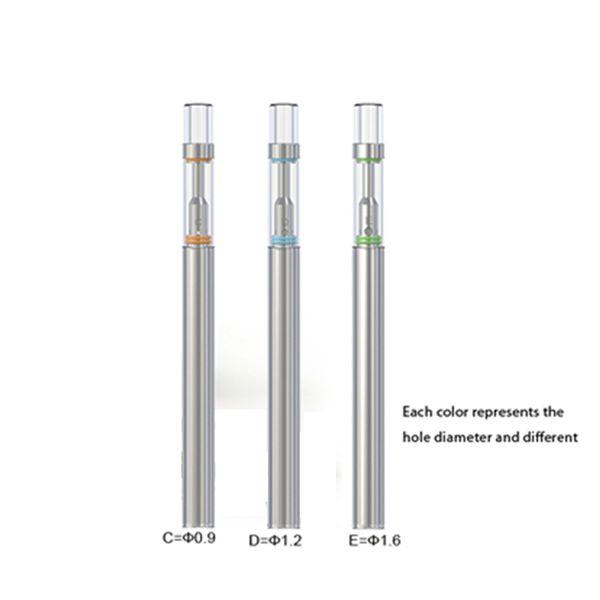 Top Quality Disposable Starter Kit Bud D1 Vape 0.5Ml Empty Cartridge Ceramic Cartridge Wax Oil Vaporizer Pen Vape Pen Kit