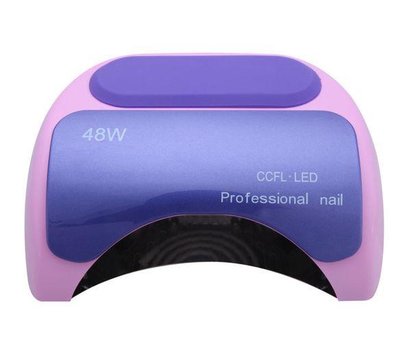 Wholesale-Lamp LED Lamp Nail Dryer Long Life 48W LED CCFL Curing for UV Gel Nail Polish