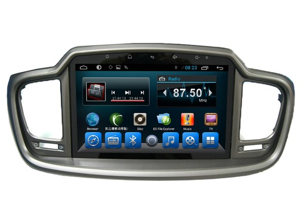 Auto GPS and Multimedia Stereo for KIA Sorento 2015 2016 In Car Dvd TV Player GPS Navigation Radio RDS BT Wifi