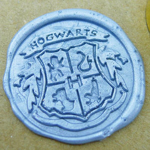 Harry Potter Hogwarts School Badge Wax Seal Stamp Wedding Logo Camera Sealing