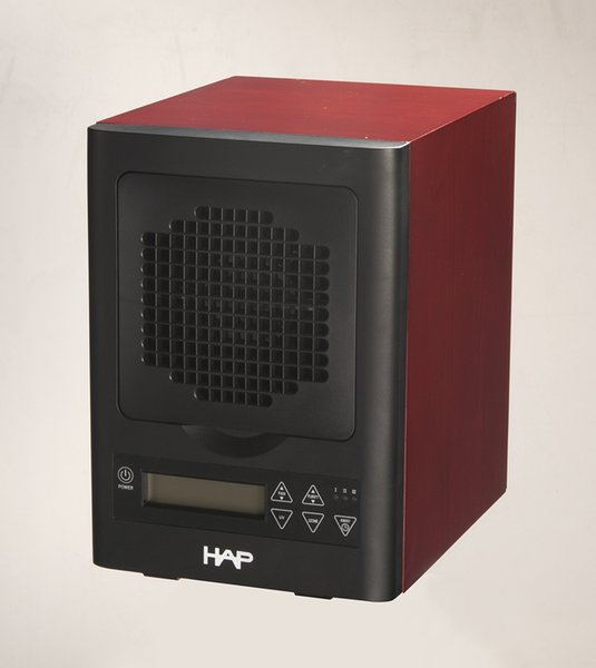 Mini purificatore d'aria elettrodomestico con telecomando (filtro HEPA, filtro a carboni attivi, filtro fotocatalitico, luce UV) HE-250CH (Cherry)