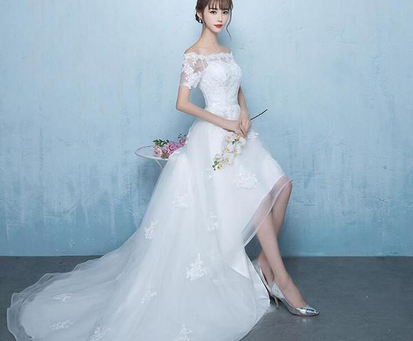 Wedding Dress 2017 Autumn New Bride Wedding Dress, Korean Word ...