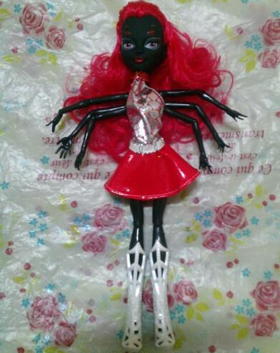 1 Piece Monster Doll Black Wydowna Spider Polyarticular Turnable Webarella Diy Dolls With Head Clothes Shoes High Quality Toys