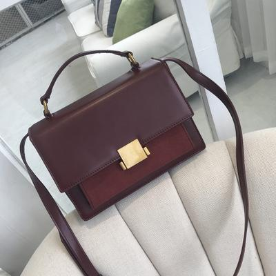 2017 Hot Sale top quality leather popular fashion brand design Style elegance free shipping Corssbody Flap Bag discount