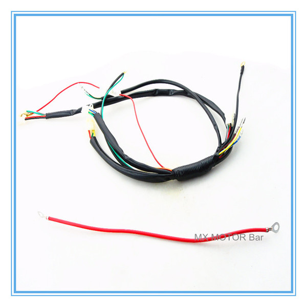 Wire Kit For Kick & Electric Start 50cc/70cc/90cc/110cc/125cc E & K Dirt  Bike/Faisceaux Electrique Dirt Bike/From Kepiwell's Store | Dhgate Com