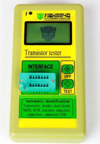 Freeshipping New Digital Component Transistor Tester ESR Meter Diode Triode Capacitance