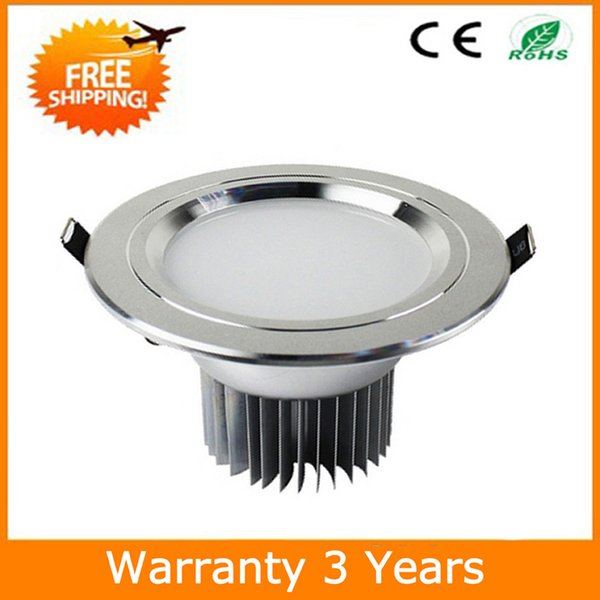 18W LED Downlight Dimmable LED Down Light Recessed 70PCS Epistar Chip 100-110LM/W High Bright 3 Years Warranty Manufacturer Supply