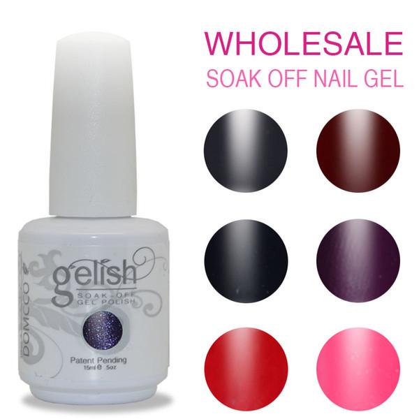 24PCS/LOT Gelish Nail Polish High Quality Soak Off Led/uv Gel Nail Polish Salon Nail Gel