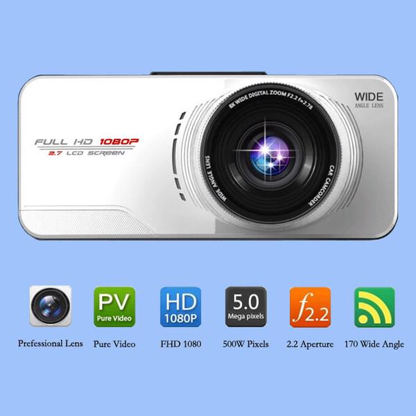 Original AT66 Car DVR Novatek 96650 AR0330 FULL HD Camera WDR Night Vision G-Sensor External GPS Tracker Black Box