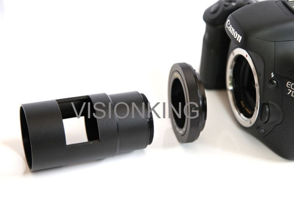 Visionking Camera Adapter For Spotting Scopes M42 Ring & M48 Tube Suitable For Canon DSLR Spotting Scopes Camera Adapter
