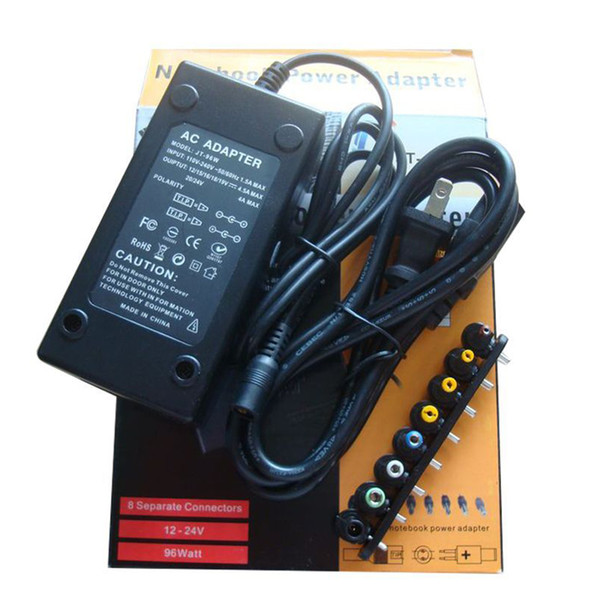 best selling Newest Universal 96W 4.0A DC Laptop Notebook AC-DC Charger Power Adapter 12V 16V 20V 24V with Plug US AU EU UK Plug