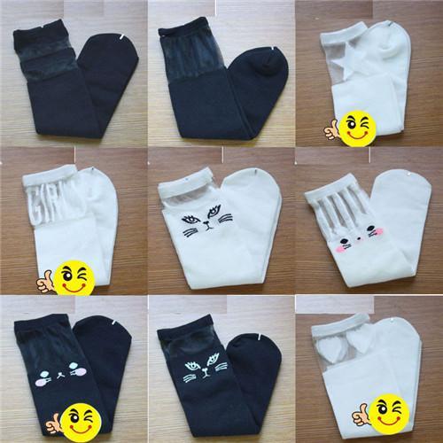 Mädchen Socken Baby Socken Mädchen Socken Damen Socken Mode Süße Heiße Art Katze Kleinkinder Kinder Muster Kniestrümpfe Für Alter 0-6 Jahre