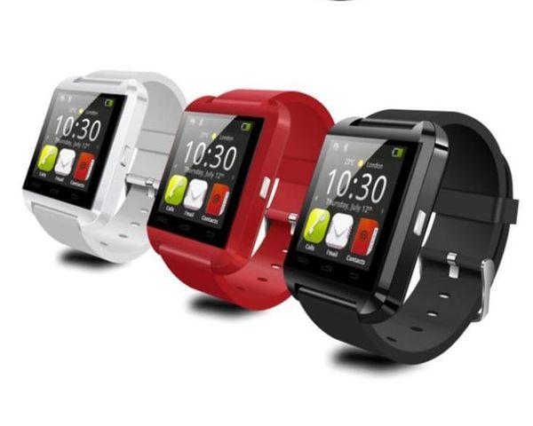 Bluetooth Akıllı Izle U8 Izle Bilek Smartwatch iphone 4 4 S 5 5 S 6 6 S 6 artı Samsung S4 S5 Not 2 Not 3 HTC Android Telefon Akıllı Telefonlar