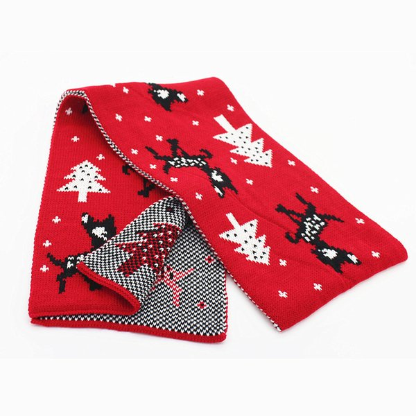 Christmas Scarf.2017 New Winter Warm Cashmere Scarf Acrylic Fibres Children Christmas Christmas Scarf Fur Scarves Summer Scarves From Ihac 11 06 Dhgate Com