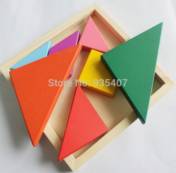 best selling High Quality Children Toy Geometry Wooden Jigsaw Puzzle