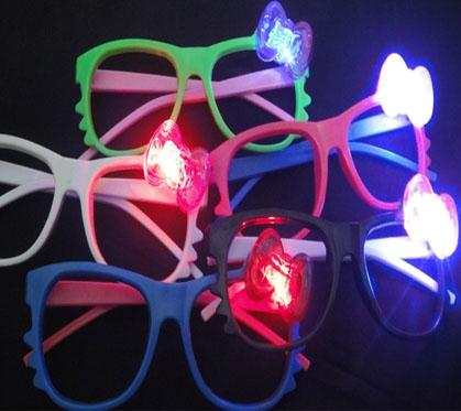 Led Rave Toy Light Up Toys cat glasses flashing stall goods glass party decoration