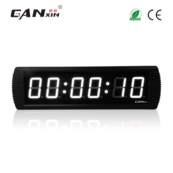 [Ganxin]Wall-mounted 3'' Led Countdown Clock Digital Wall Clock Square Home Clock Digital Timer
