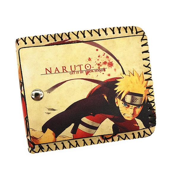 Wholesale- Women&Men Fashion Cute Cartoon Wallet One Pieces Tokyo Ghoul Black Butler Card Holder Short Pures