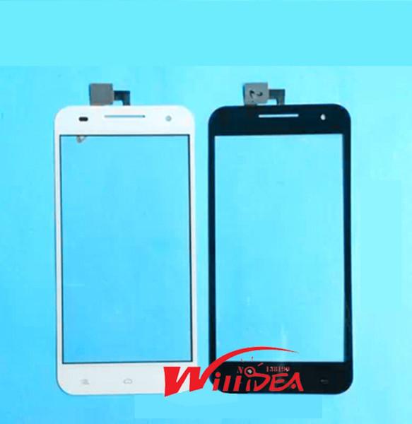 Toptan-Ücretsiz Kargo YUSUN T55 Için Siyah ve Beyaz Yeni 5 inç Cep telefonu dokunmatik ekran Paneli El Yazısı Ekranlar Onarım Değiştirme