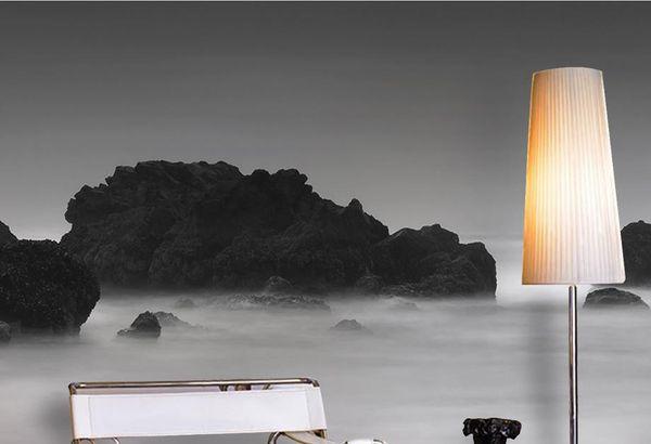 beyaz duvar kağıdı dağ zirveleri bulutların duvar kağıdı modern 3d