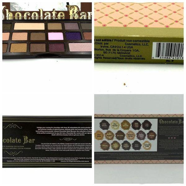 HOT Makeup Chocolate Bar Eyeshadow Semi Sweet Sweet Peach Bon Bons Palette  Eye Shadow Plates +Gift Gold Eyeshadow How To Do Eyeshadow From Mac_store,