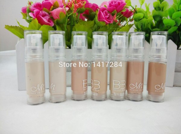 7pcs super bb cream Concealer Isolation perfect cover Whitening Makeup Base Liquid Foundation face primer fond de teint cremes