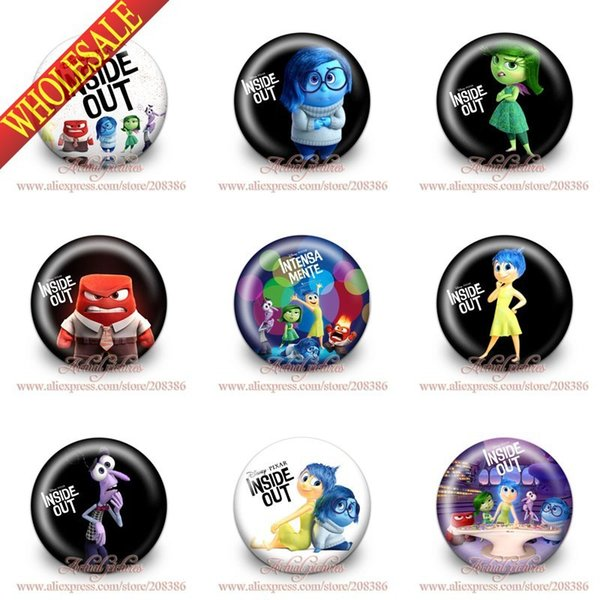 2019 High Quality Novelty Inside Out Buttons Pins Badges,Round  Badges,Brooch Badges Party Favor Gifts,Clothes/Bags Accessories From Zxy1,  $30 58 |