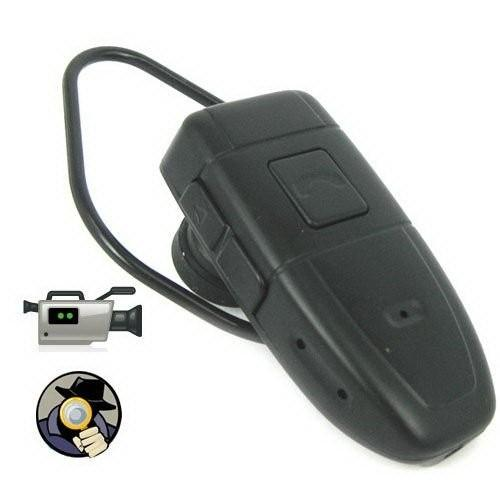 Bluetooth earphone Headset Camera 4GB HD Bluetooth Headset DVR pinhole Camera video recorder Mini Camcorder in retail box droshipping 12pcs