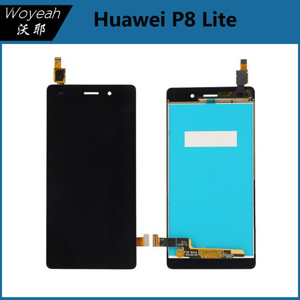 Huawei P8 Lite LCD Display +Touch Screen Digitizer Glass Panel Replacement Part White Black Gold LCD Screen For Huawei P8 Lite