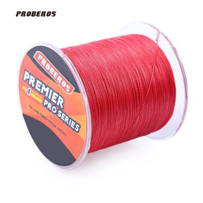 PROBEROS 500M PE Braided Fishing Line 4 Stands Multifilament Fishing Line Angling Accessories 6LBS to 80LB 5 Colors New Fishing Lures NEW+B