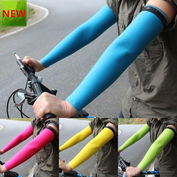 Arm Sleeve UV Sunscreen Breathable Sports Basketball Running Warmers Cycling LIN