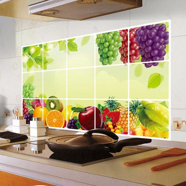 Kitchen Oilproof Removable Wall Stickers Art Decor Home Decal ...