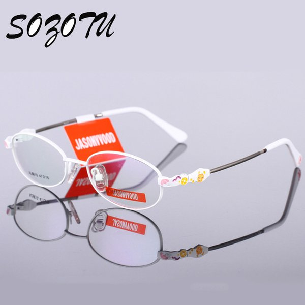 Wholesale- Children Optical Cartoon Eyeglasses Frame Boys Girls Student Myopia Prescription Glasses Spectacle Frame For Kids Oculos YQ199