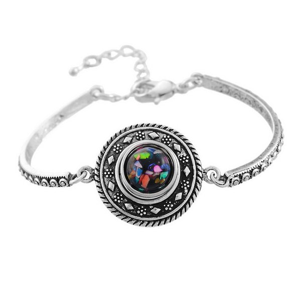 2016 NOOSA Metal personality Snap Button Charm Bracelet Interchangeable Jewelry Ginger Snaps Jewelry Fashion DIY jewelry for women