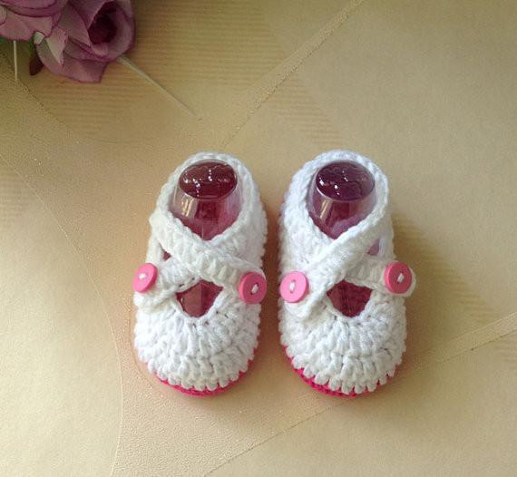 2015 New design Crochet baby shoes infant booties girl flower leaves 0-12M 16pairs/lot cotton yarn