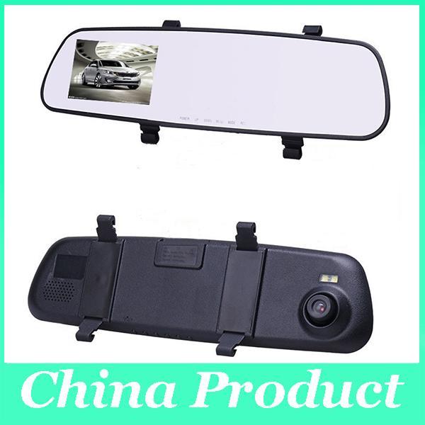 2.8 Inç Araba DVR Dikiz Kamera HD Çizgi Kam Video Kaydedici Dikiz Kamera Araba dvr 140 Derece Geniş açı 010228