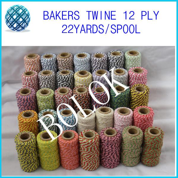 Rouge /& Or Bakers Twine-Noël Twine-épais 5 mm ou 2 mm emballage String