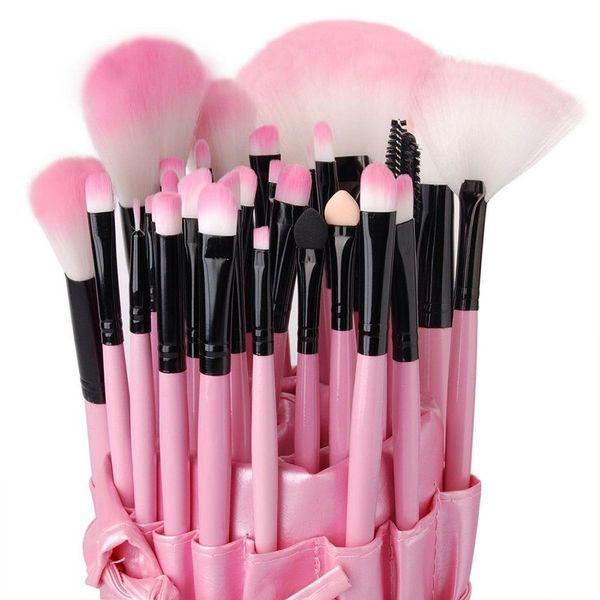 Vander Professional 32pcs Makeup Brushes Set Cosmetic Powder Foundation Eyebrow Lipstick Pinceaux Kabuki Kit Tool +Case Bag