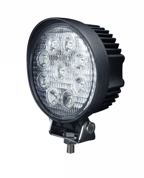 Free shipping 4 inch 27W LED Work Lights Off-road Driving Flood Spot 4WD 4X4 Headlights Jeep Truck ATV Boat Lamp 12V 24V