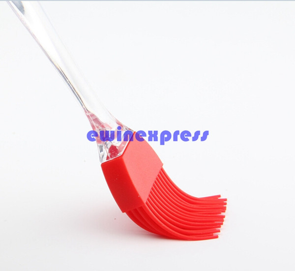 BBQ Tools Outdoor Cooking Mini Silicone Brush Basting Baking BBQ Grilling Cook Bread Butter Spreader S Size