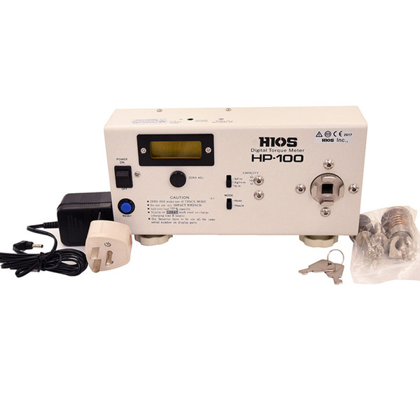 Knokoo Hot Sale Hios HP-100 Digital Torque Meter Big Display Membrane Switch Torque Wrench Measure Screwdriver Tester