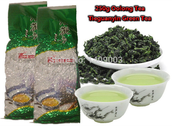 top popular 250g Top grade Chinese Oolong tea , TieGuanYin tea new organic natural health care products gift Tie Guan Yin tea 2019