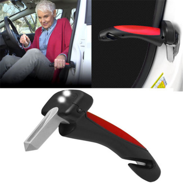top popular Retail package-New arival Cars door multi-function armrest portable Car handle Car Cane Grip Tool get in and out of your car with ease 2019