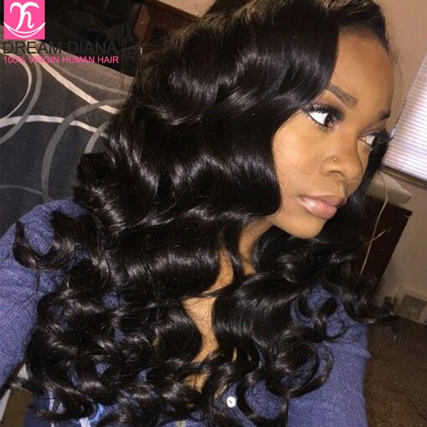 Promotion! Grace Hair Products Brazilian Body Wave With Closure Tissage Human Hair Weave With Closure 4/5Pcs Brazilian Virgin Hair Body Wave