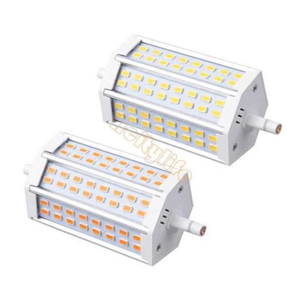 1X R7S Led 20W SMD 5730 118 mm J78 Bombilla LED Lámpara de luz AC85-265V Reemplace el reflector halógeno # 3 SV002177